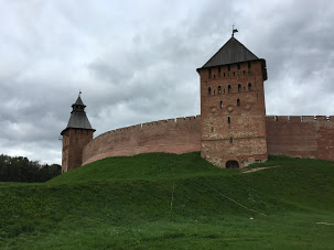 The walls of Novgorod