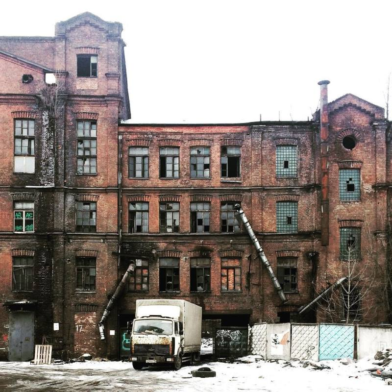 Red Triangle factory in St. Petersburg