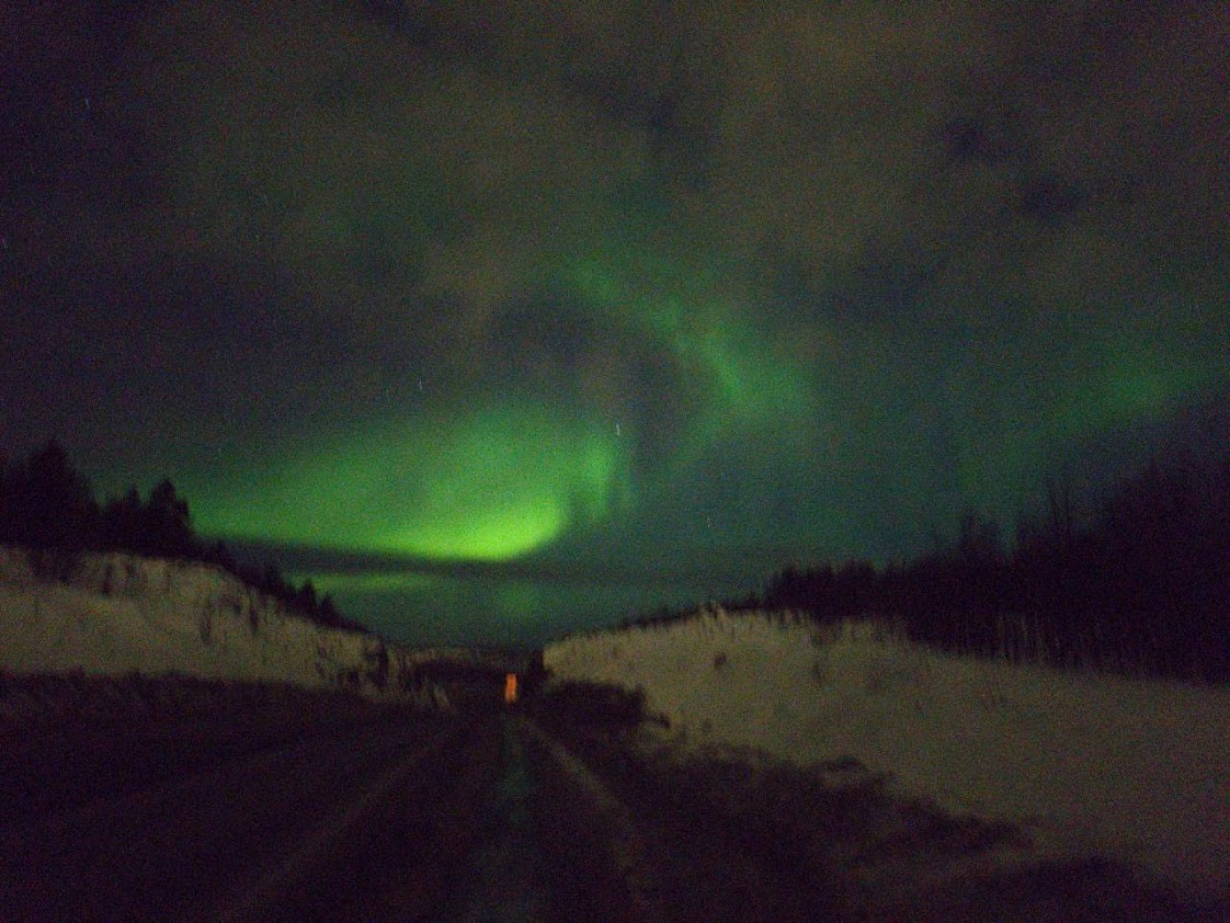 Northern Lights in Murmansk