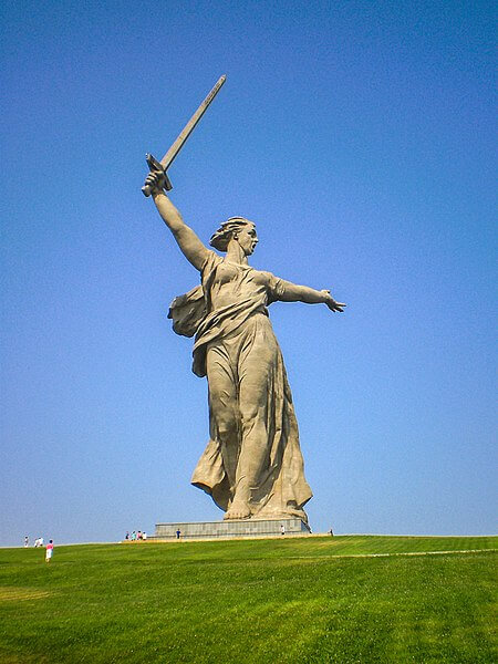 The Motherland Calls Volgograd