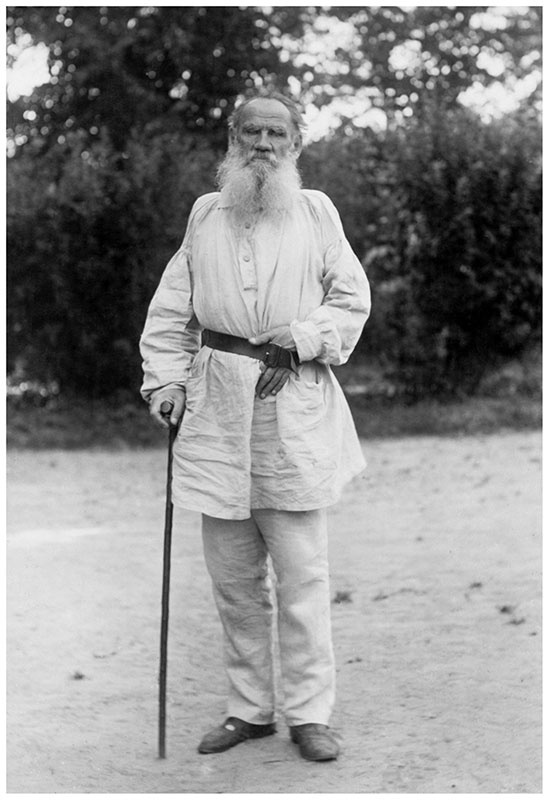 Tolstoy in 1898