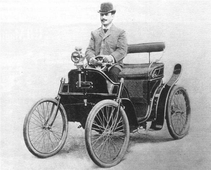 The First Russian Automobile