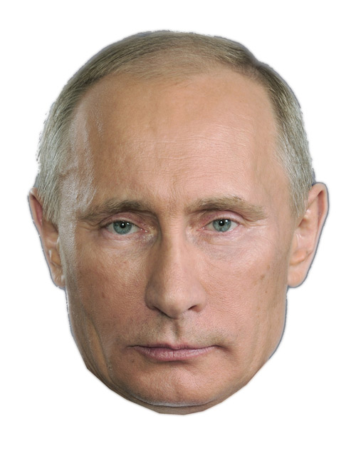 Halloween Week: Get your Putin (and Brezhnev and Lenin) Masks here!