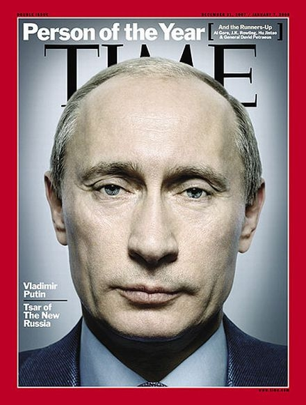 Putin Selected as Person of the Year