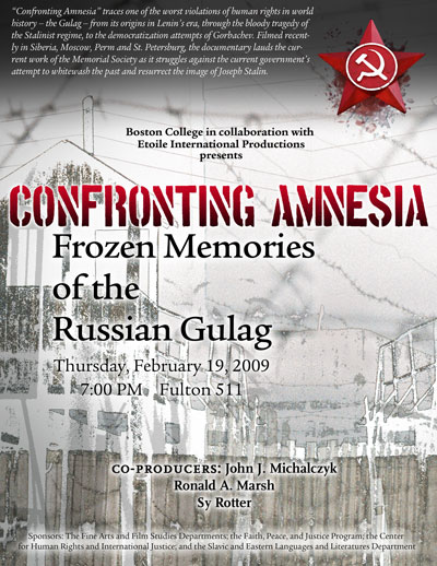 Confronting Amnesia: Frozen Memories of the Russian Gulag