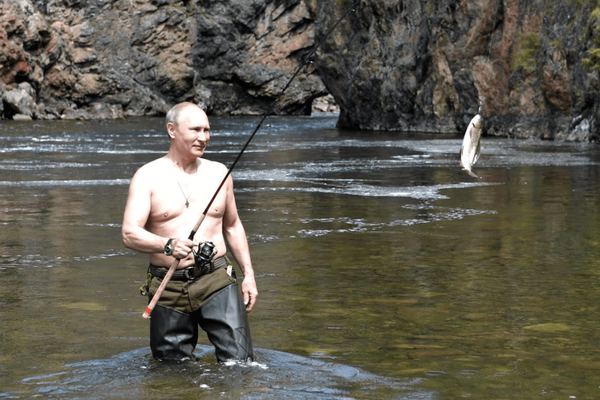 Eating, Drinking, and Putin's New Look