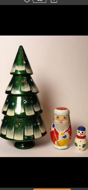 Christmas Tree Nesting Doll Workshop