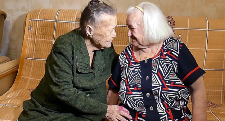 War-Separated Sisters Reunited after 78 Years