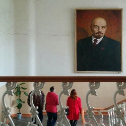 Students and Lenin